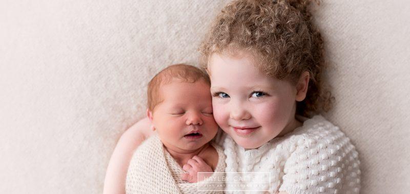 Newborn Photographer Huddersfield - Edith & Eliza