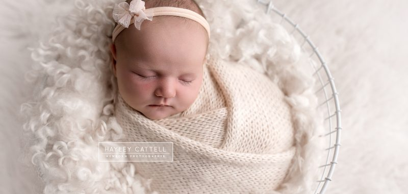 Newborn Photoshoot Yorkshire - Leila