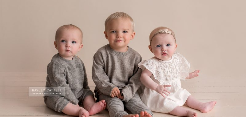 Wakefield Baby Photographer - Monty, Roscoe & Florence